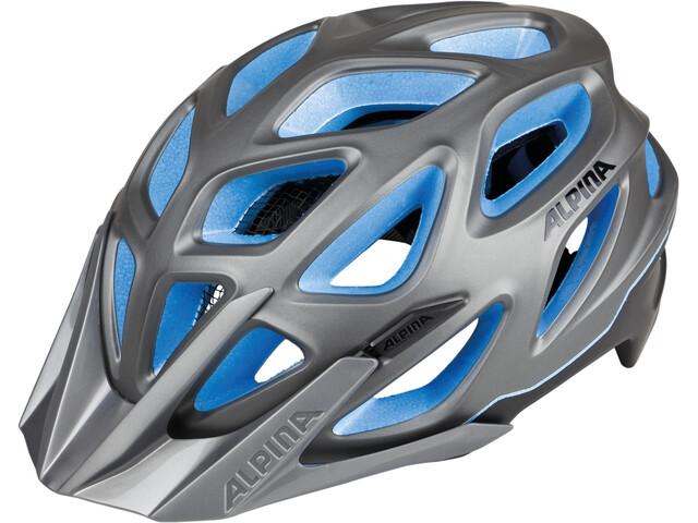 Alpina Mythos 3.0 L.E. casco per bici grigio